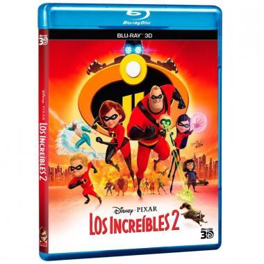 Blu Ray 3D Los Increíbles 2