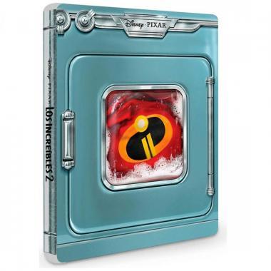 Blu Ray Bonus Dvd Steelbook Los Increíbles 2