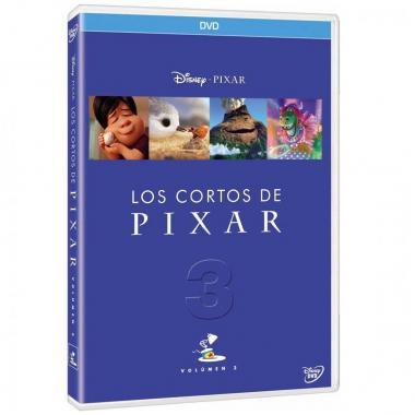 Preventa - Dvd Cortos Pixar  Vol. 3