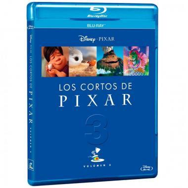 Preventa - Blu Ray Cortos Pixar Vol. 3