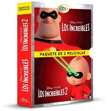 Blu Ray Paquete Los Increíbles
