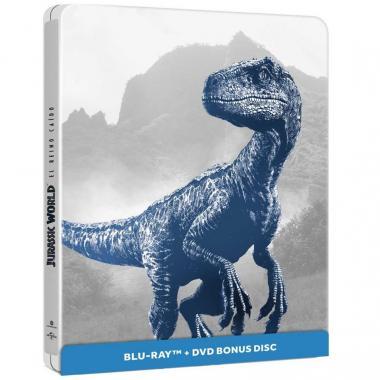 Blu Ray Bonus Disc Steelbook Jurassic World: Reino Caido