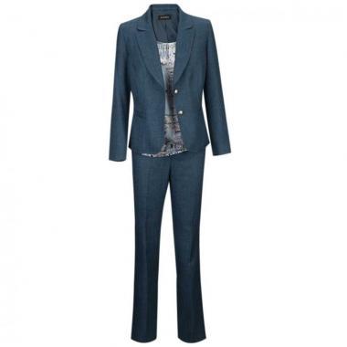 Conjunto 3pz Saco Blusa Y Pantalón Joces