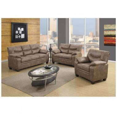 Sala Viena 3-2-1 Sofá y Love Seat Global Furniture