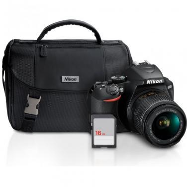 Cámara Nikon D3500 18-55MM con Estuche y SD 16GB