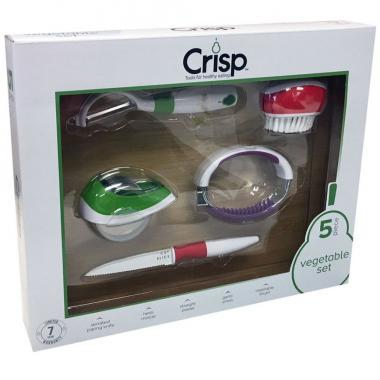 Set De 5 Accesorios Para Vegetales Crisp