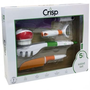 Set De 5 Accesorios Para Ensalada Crisp