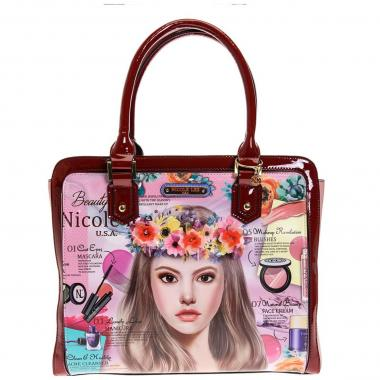 Bolso Handbag Estampado Nicole Lee