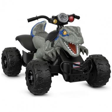 Montable Fisher Price Power Wheels Jurassic World Dino Racer Mattel