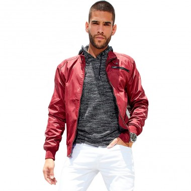 Chamarra Color Rojo G By Guess