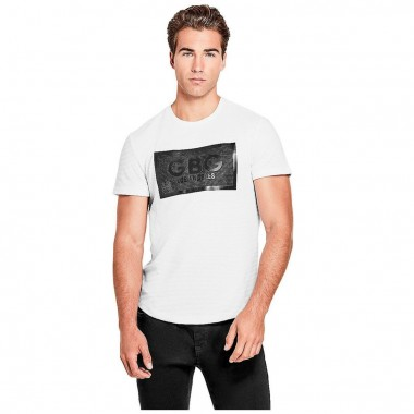 Playera Color Blanca G By Guess