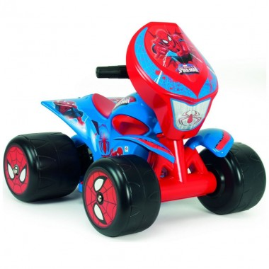 Montable Quad Quarterback  Spiderman 6V Injusa