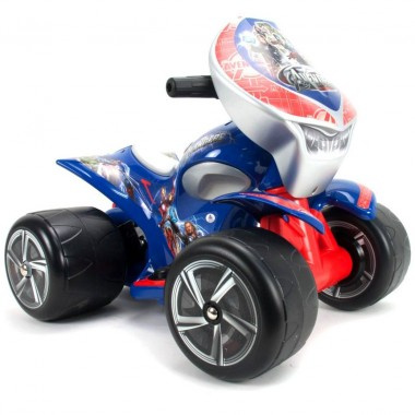 Montable Quad Quarterbac Avengers 6V Injusa