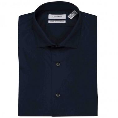 Camisa de vestir Calvin Klein Color Azul Marino