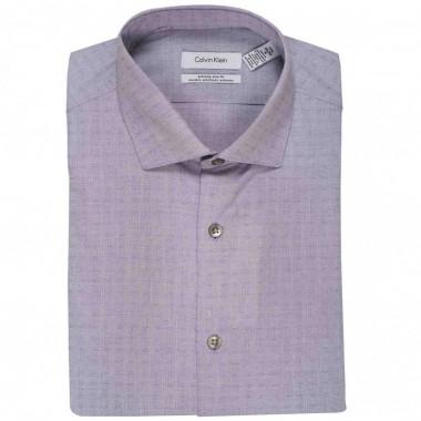 Camisa de vestir Calvin Klein Color Morado combinado