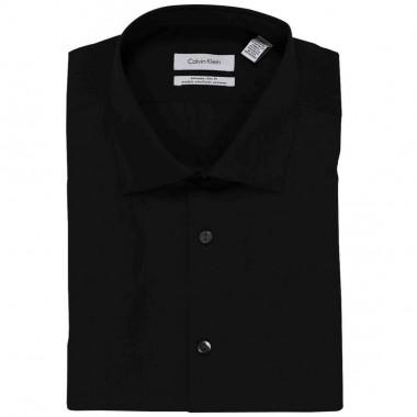 Camisa de vestir Calvin Klein Color Negro