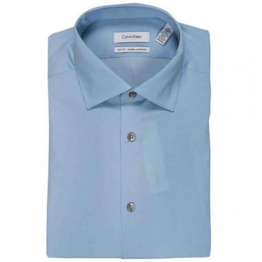 Camisa de vestir Calvin Klein Color Azul