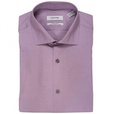 Camisa de vestir Calvin Klein Color Rosa