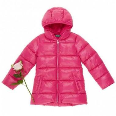 Chamarra Color Rosa Benetton