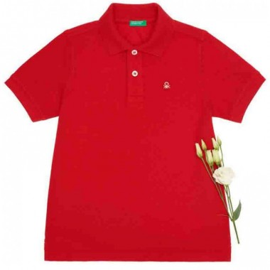 Polo Color Rojo Benetton