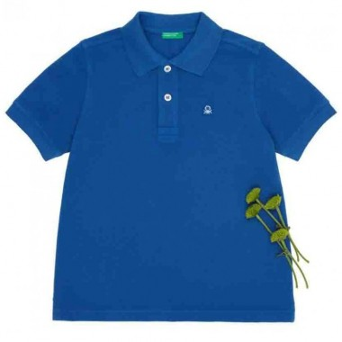 Polo Color Azul Benetton