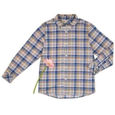 Camisa Color Azul Benetton