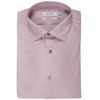Camisa de vestir Calvin Klein Color Rosa combinado