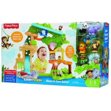 Fisher Price Little People Selva Animales Divertidos Mattel