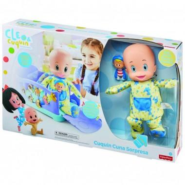 Fisher Price Cuquín Cuna Sorpresa Mattel