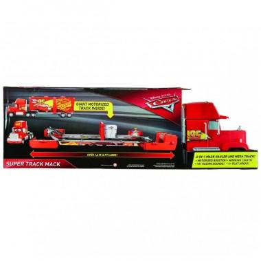 Cars Super Mack Pista Transformable  Mattel