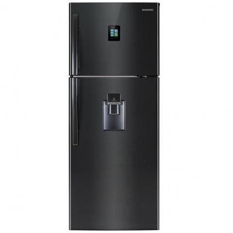Refrigerador Daewoo 2 Puertas 17P3 Dfr-46930Gjpx Negro C/Des