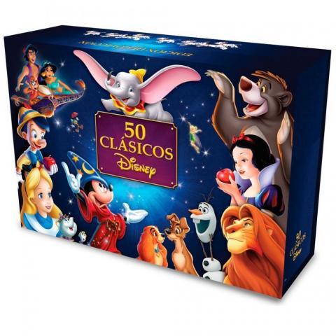 Dvd Paquete Colección 50 Clásicos De Disney