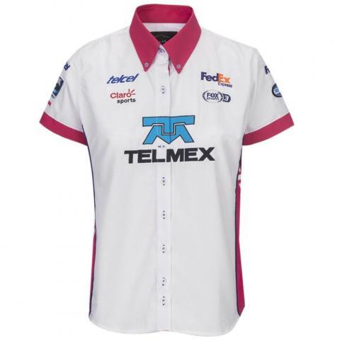 Camisa Escudería Telmex-Telcel dama 18 Pole Position