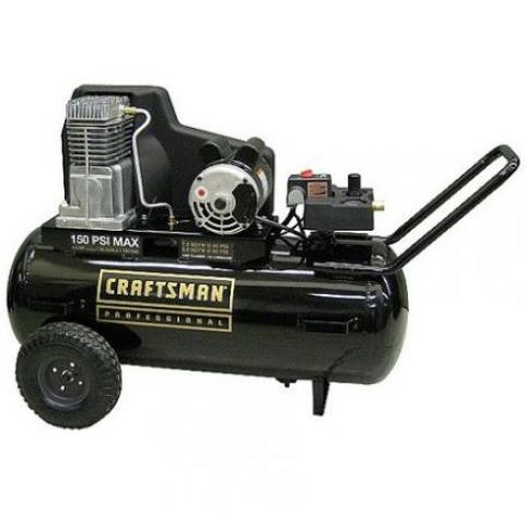 Compresora Horizontal 25 Galones Craftsman 16475