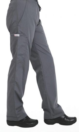 Steel Grey cargo scrub pants