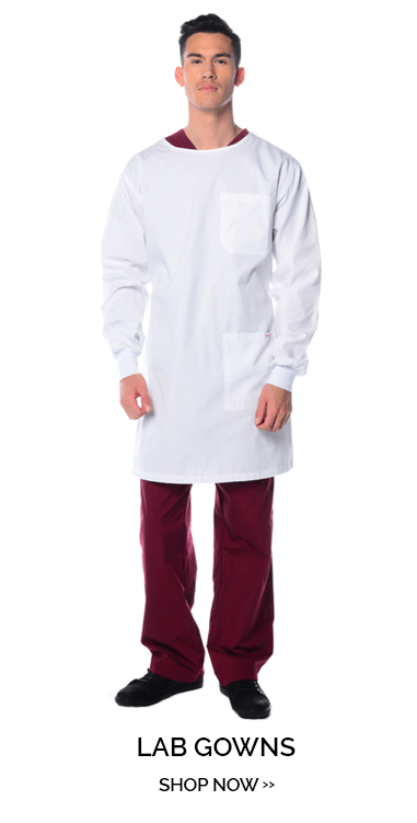 Shop lab gowns and Mediscrubs. Several style of lab gowns and lab coast to choose from. Unisex gowns