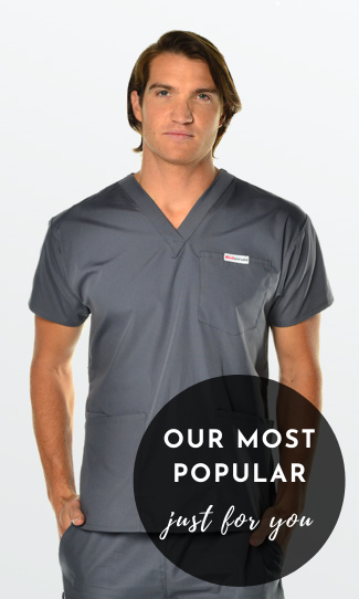 4 Pocket Scrub top for Men