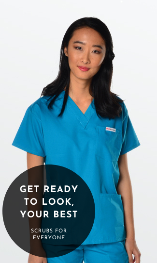 4 Pocket Scrub top for Women