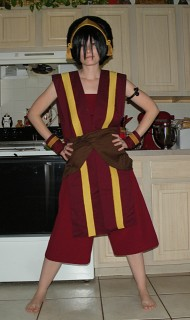 fire nation toph progress album by makeshiftwings cosplay com