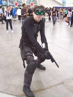 Sam Fisher Tom Clancy S Splinter Cell Cosplay By Splinter
