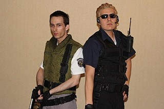 Chris Redfield S T A R S Resident Evil Cosplay By