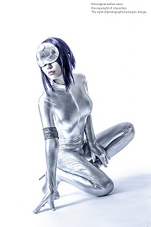 shell the Ghost complex alone cosplay stand in