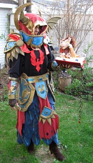 Blood Elf Paladin - Cataclysmic Gladiator - World of Warcraft cosplay by Quita - Cosplay.com