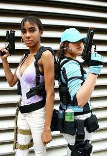 Jill Valentine Sheva Alomar Bsaa Resident Evil 5