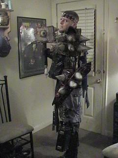 Abyssal Exalted - Warhammer 40,000 cosplay by Brockson Wylld