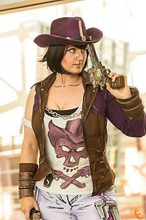 Nisha The Lawbringer - Borderlands The Pre-Sequel cosplay by