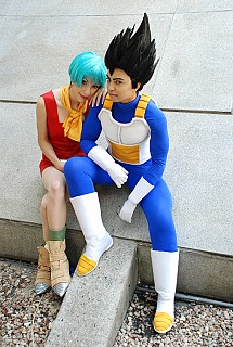 Dragon ball bulma costume