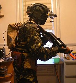 solid cosplay gear Metal