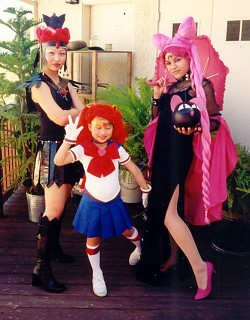Are black lady sailor moon cosplay mine