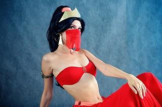 Princess Jasmine Slave Aladdin Cosplay By Malro Cosplay Com